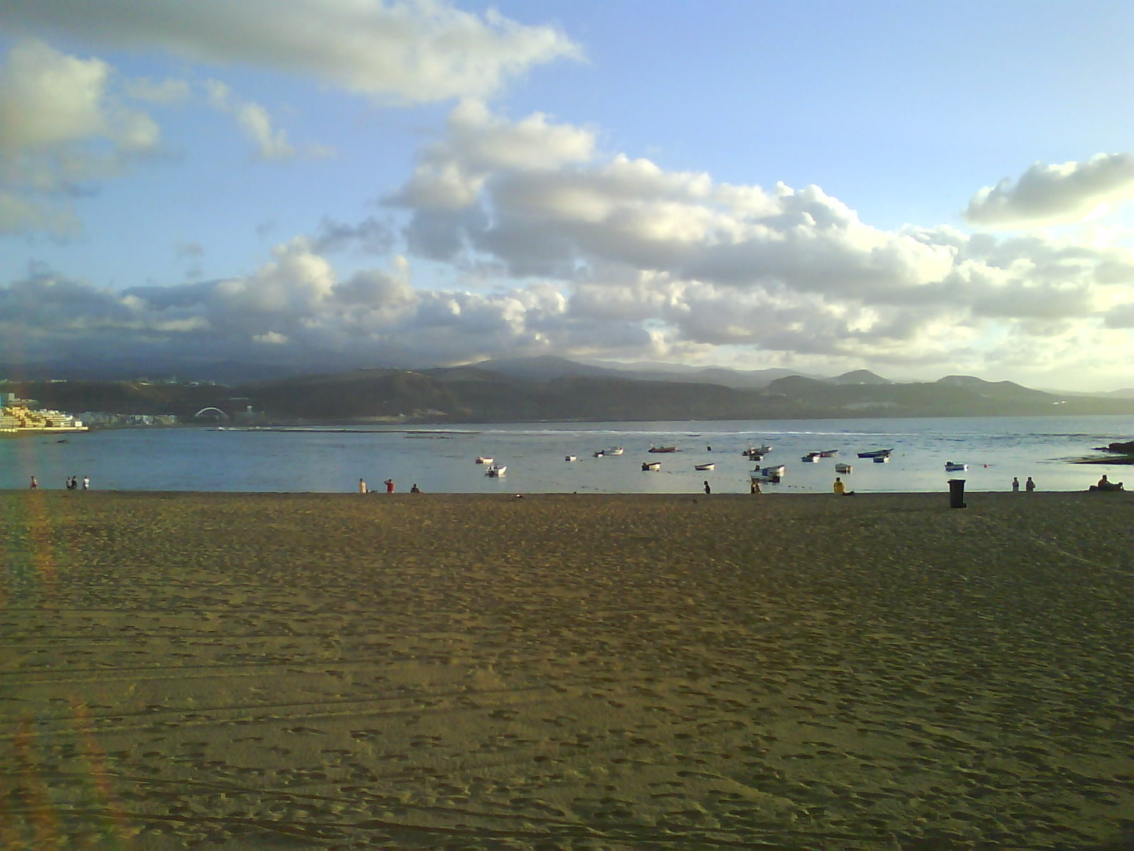 Embalse en Playa de Las Canteras
