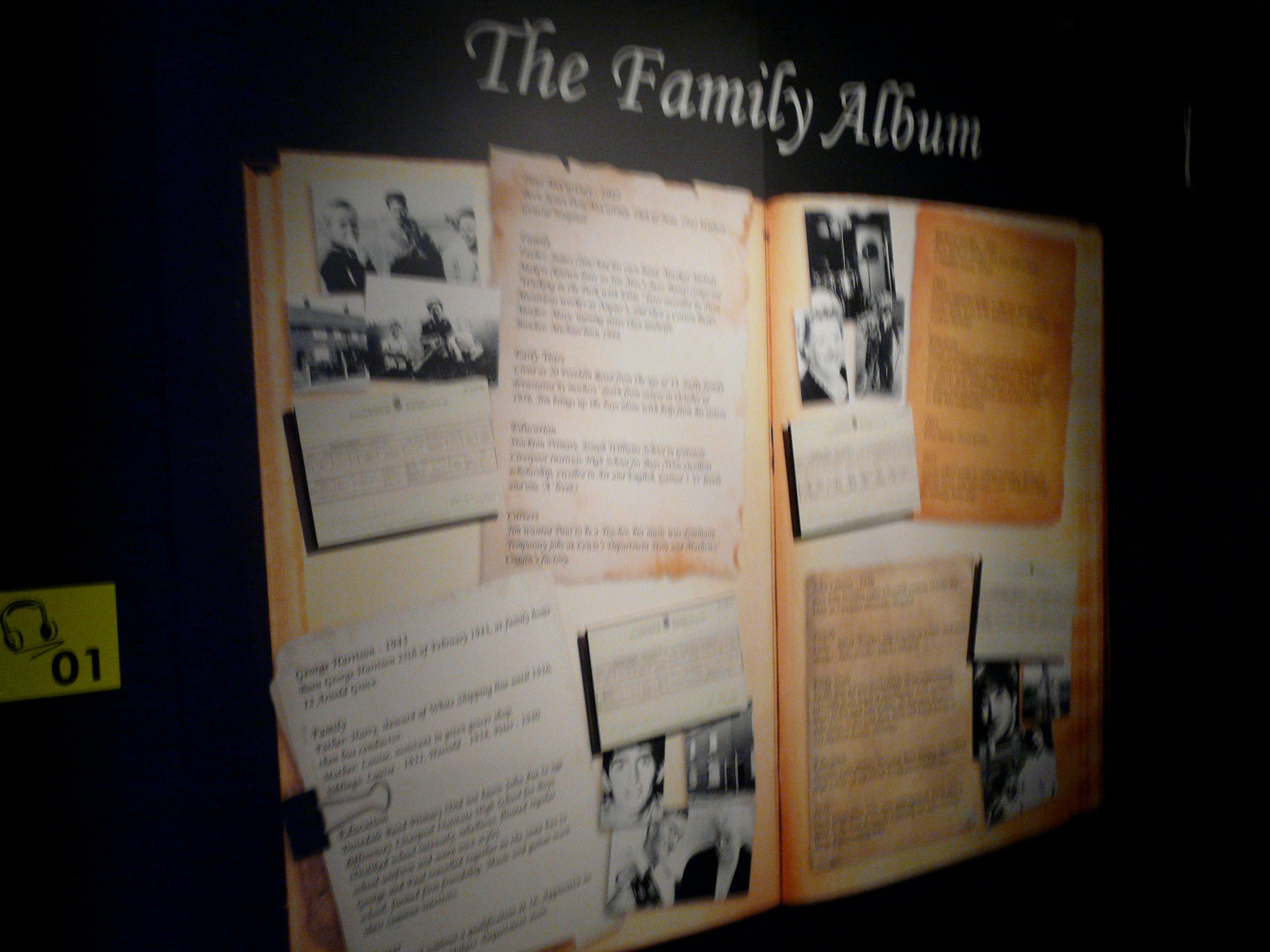 Póster en The Beatles Story
