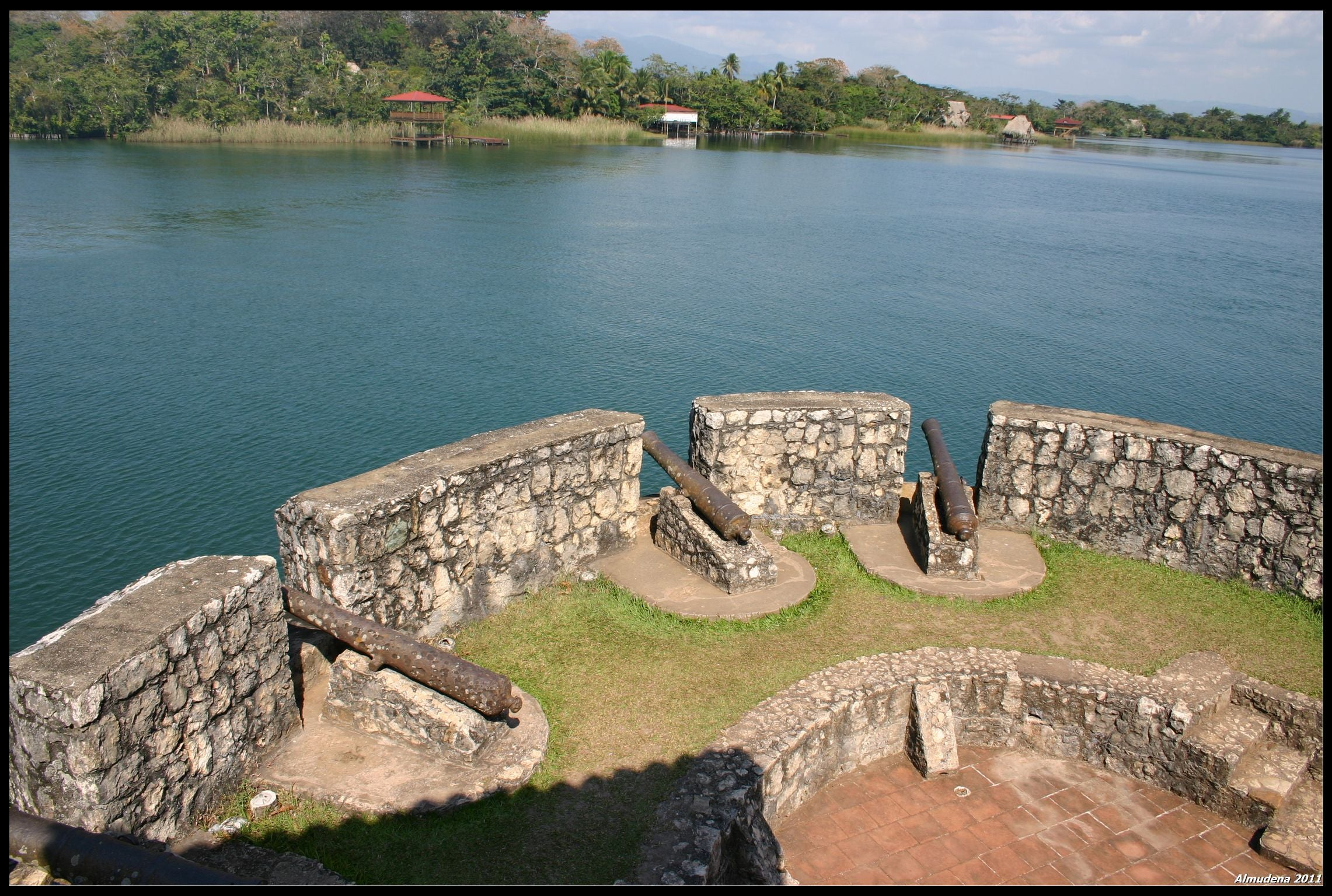Embalse en Castillo San Felipe