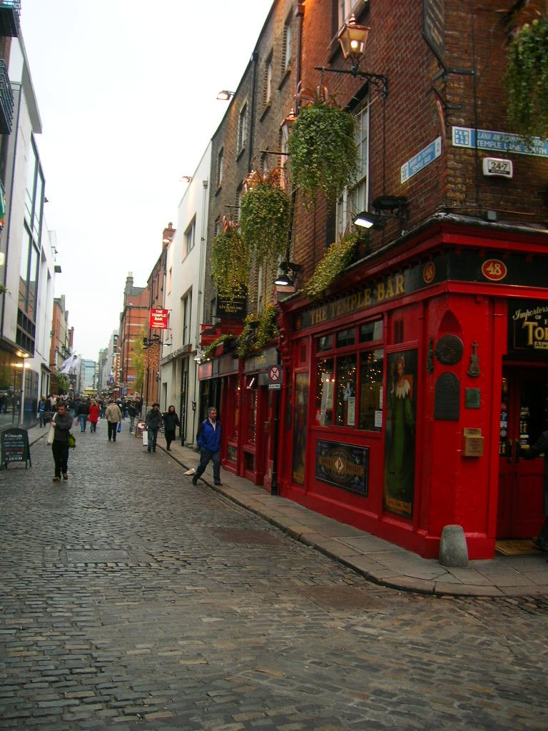 Fotografía en Temple Bar