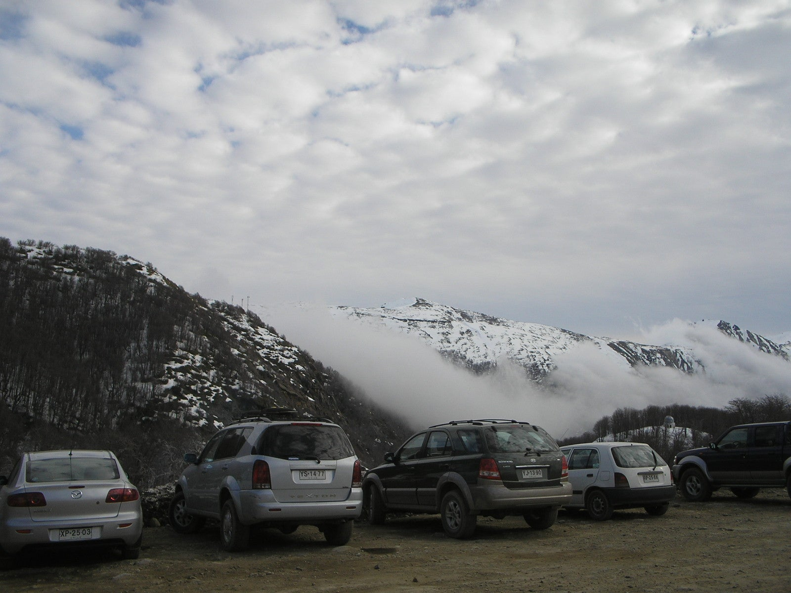 Nube en Nevados de Chillan