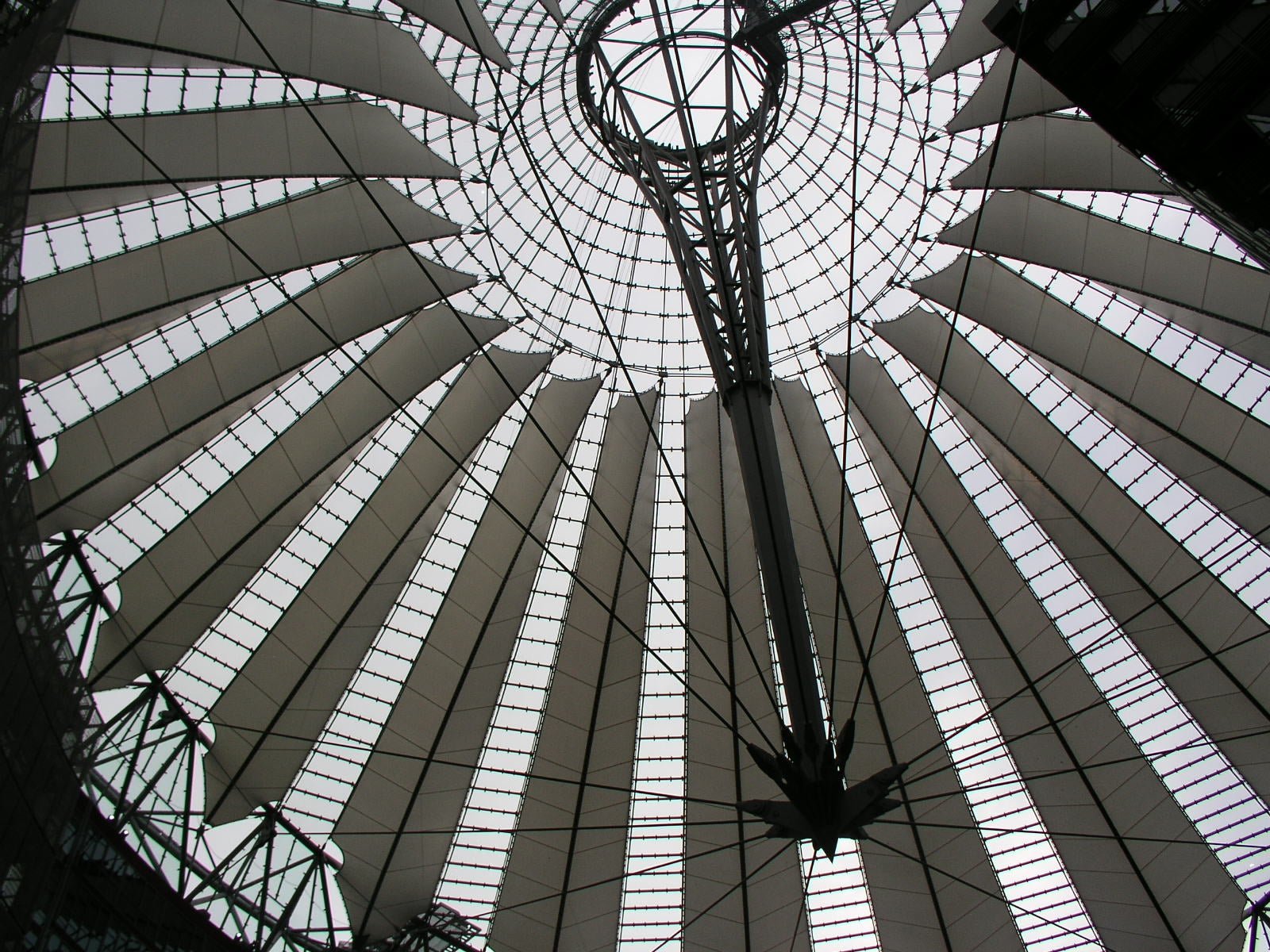 Tejado en Sony Center