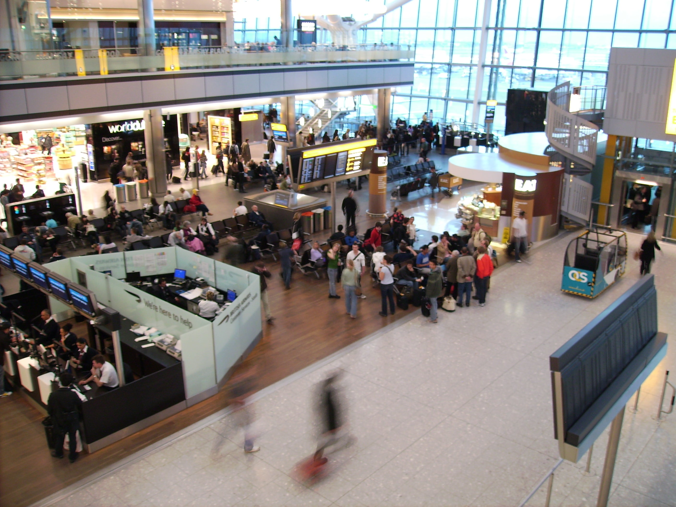 Tienda en Aeropuerto de Londres - Heathrow