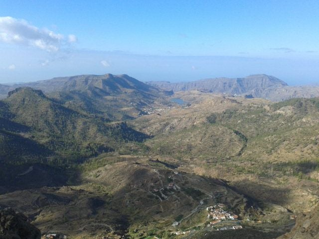 Mountain Range in Transgrancanaria 2016 - 125 kms