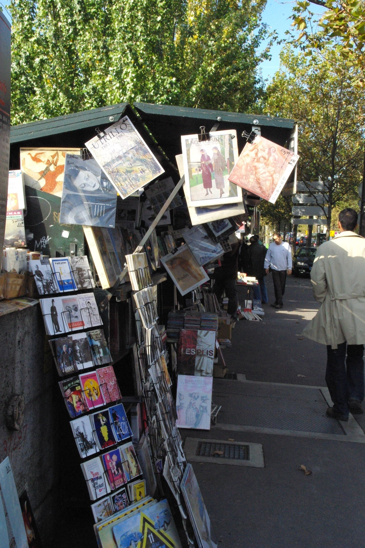 Mercado en Bouquinistes de Paris