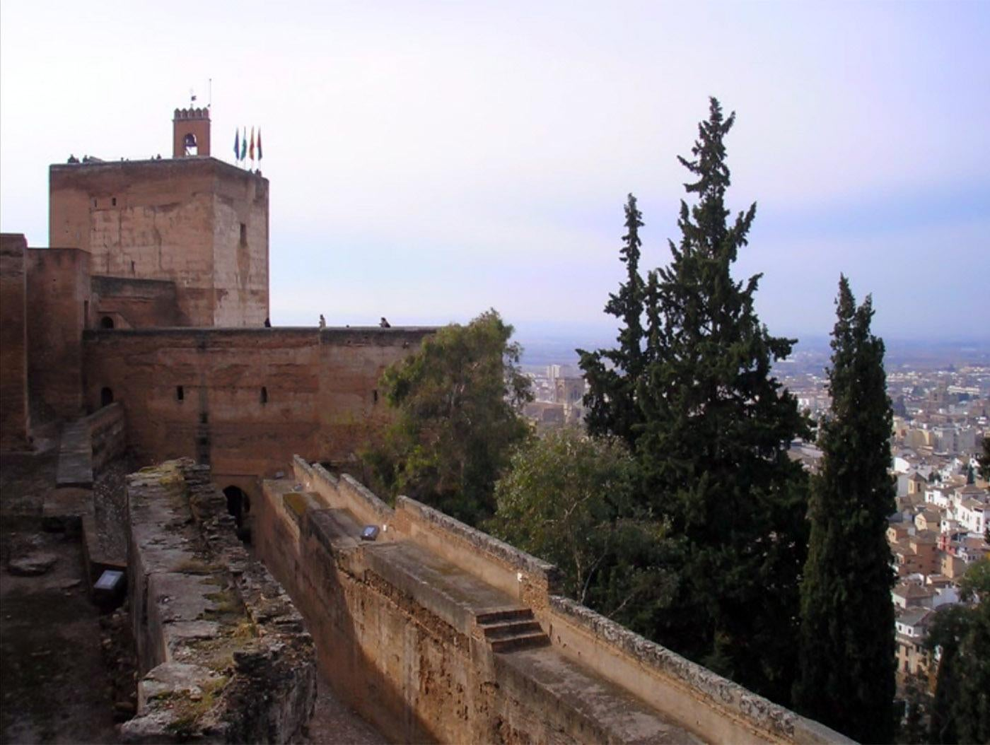 Pared en Alcazaba