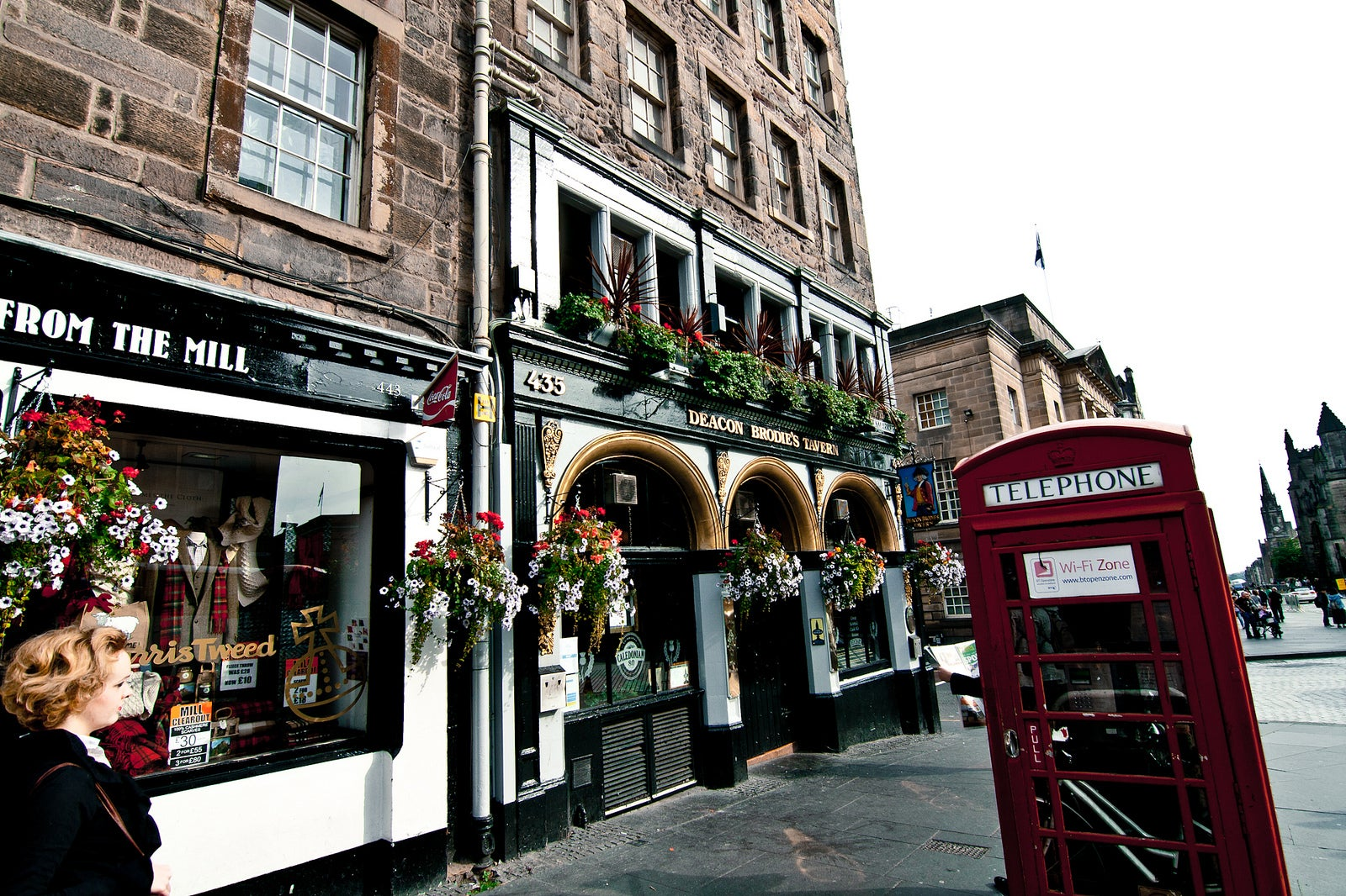 Compras en Royal Mile