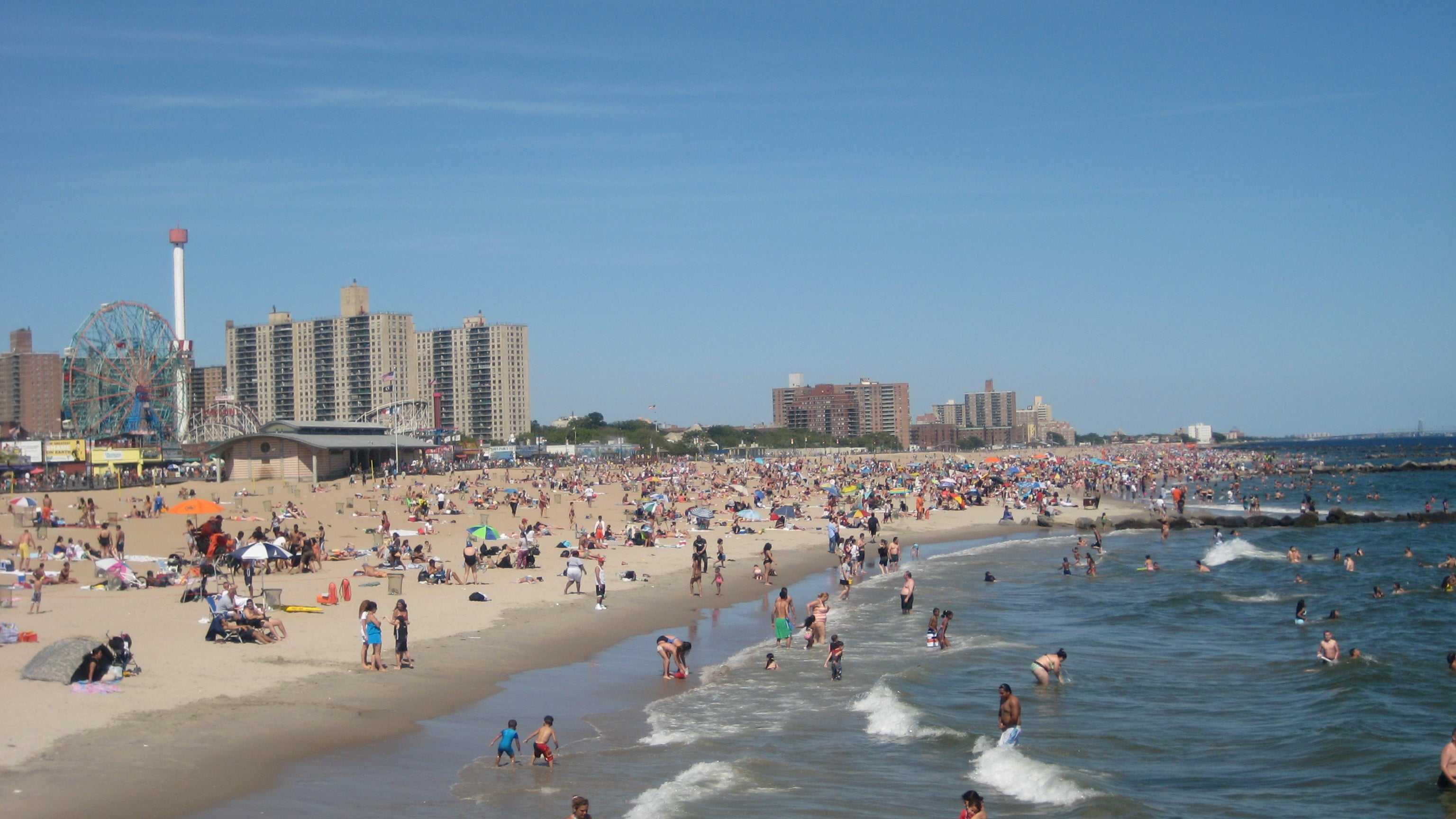 Playa en Coney Island