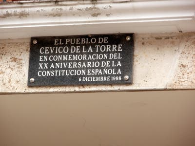 Tribute to the Spanish Constitution