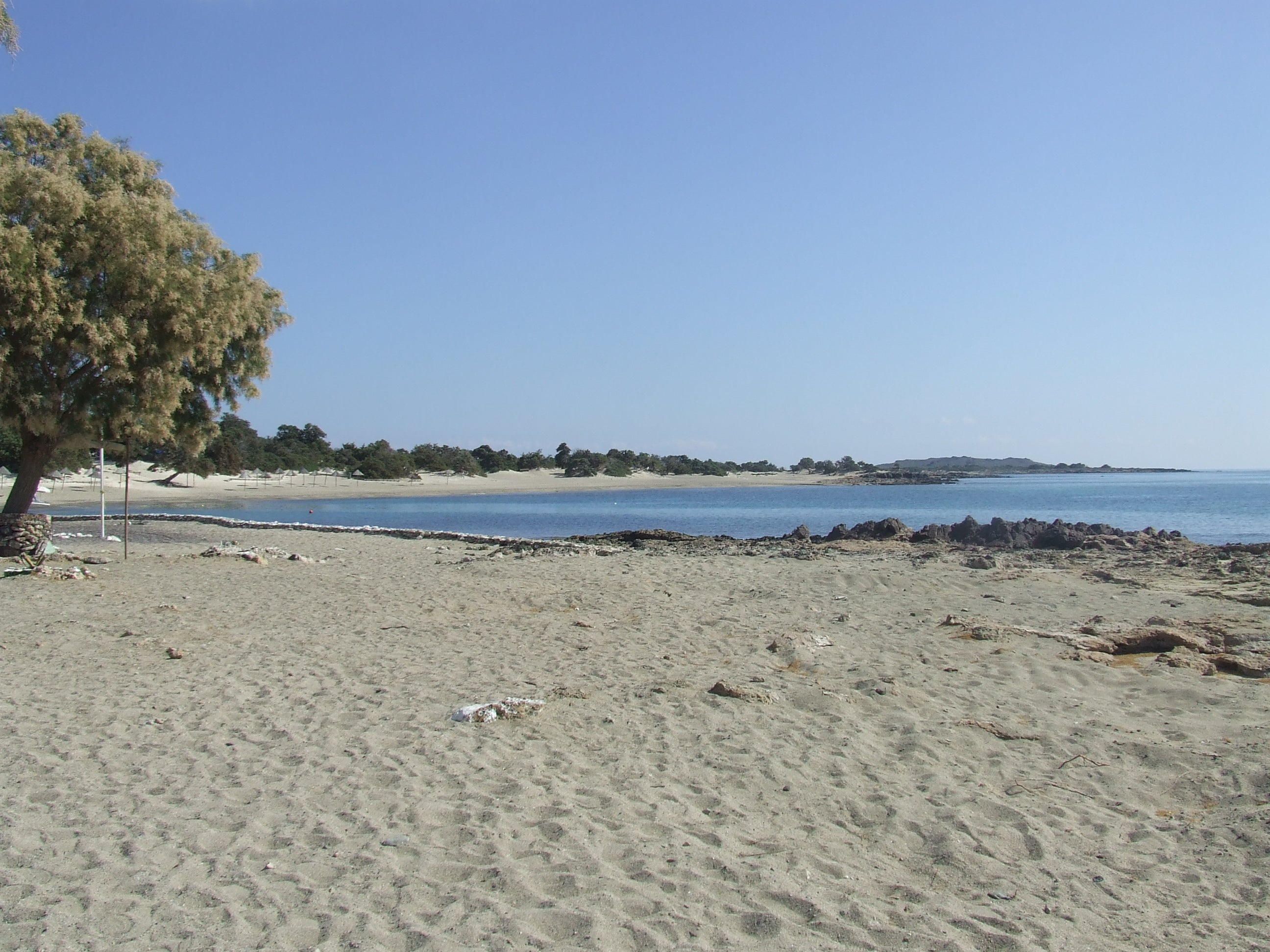 Playa en Isla de Chrissi
