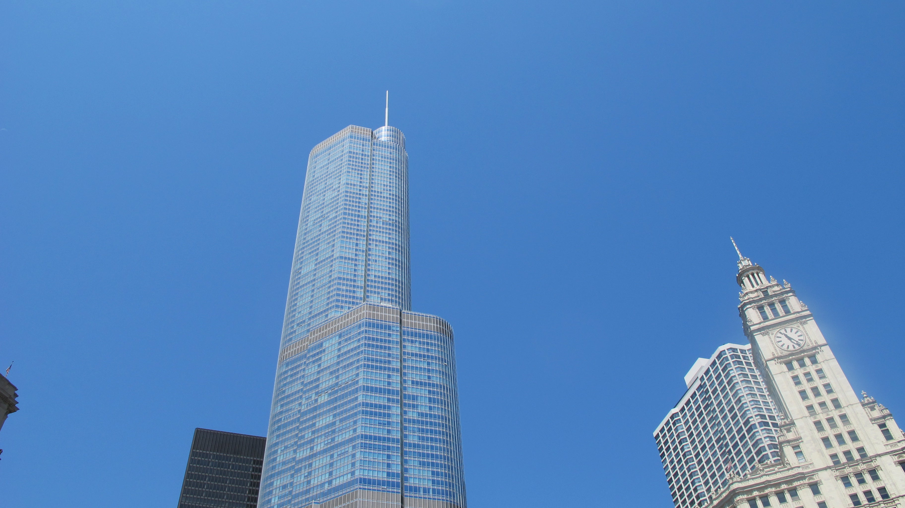 Skyline en Trump International Hotel and Tower Chicago