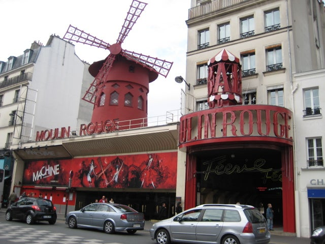 Teatro en Moulin Rouge