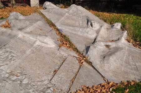 Sculpture of the Buried