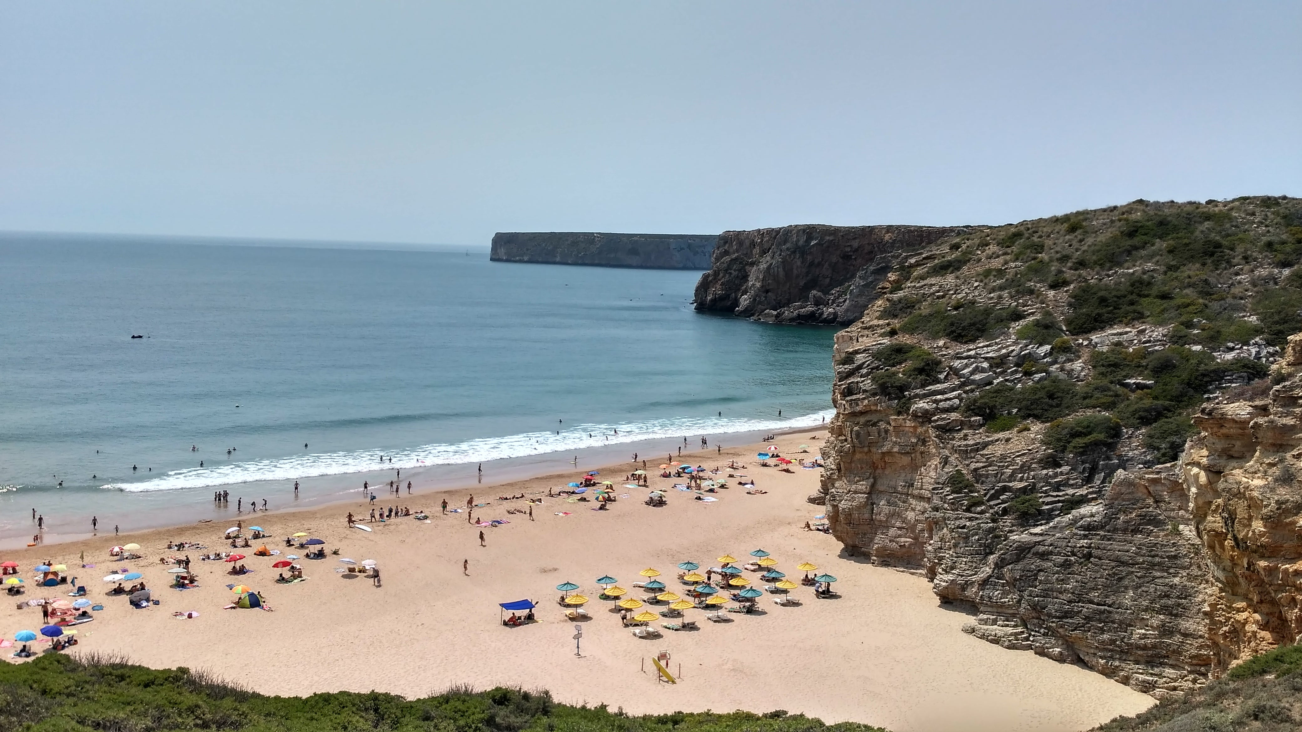 Mar en Playa de Beliche