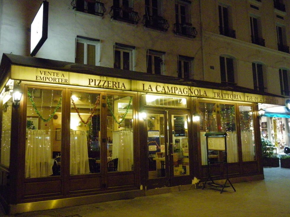 restaurant la campagnola paris 1 exp riences et 1 photos. Black Bedroom Furniture Sets. Home Design Ideas