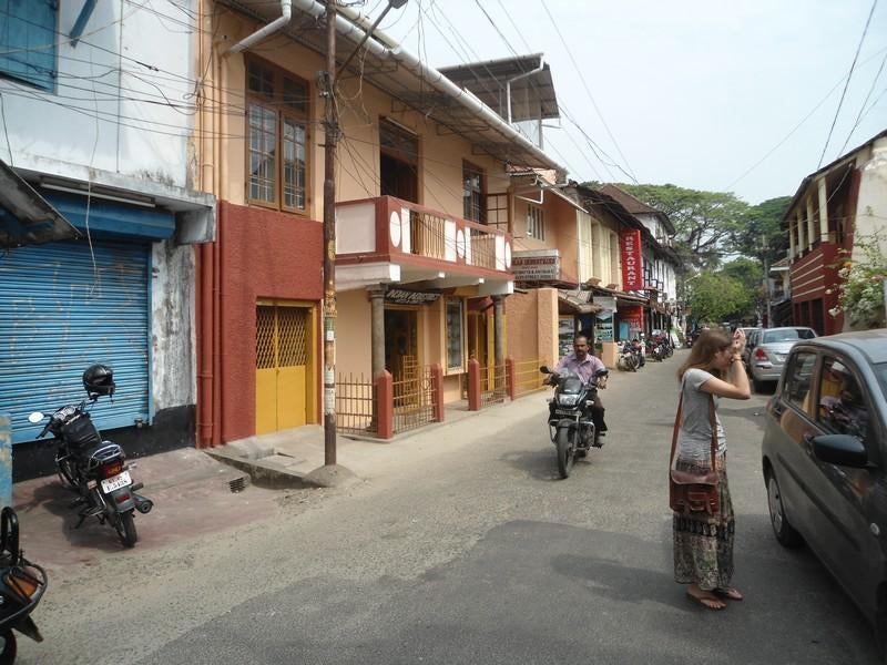 Barrio en Fort Kochi