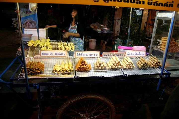 Comer insectos a Phitsanulok