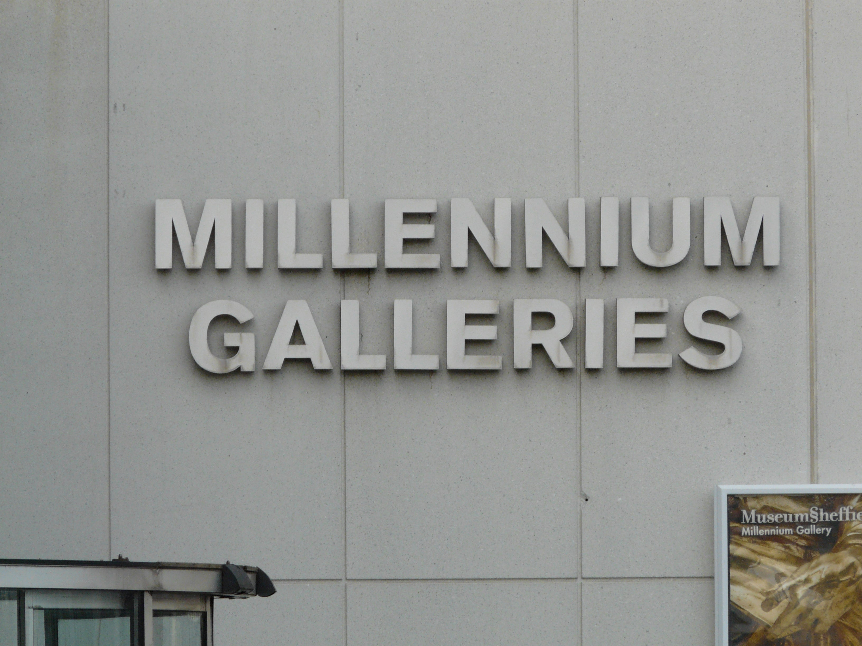 Pared en Millennium Gallery