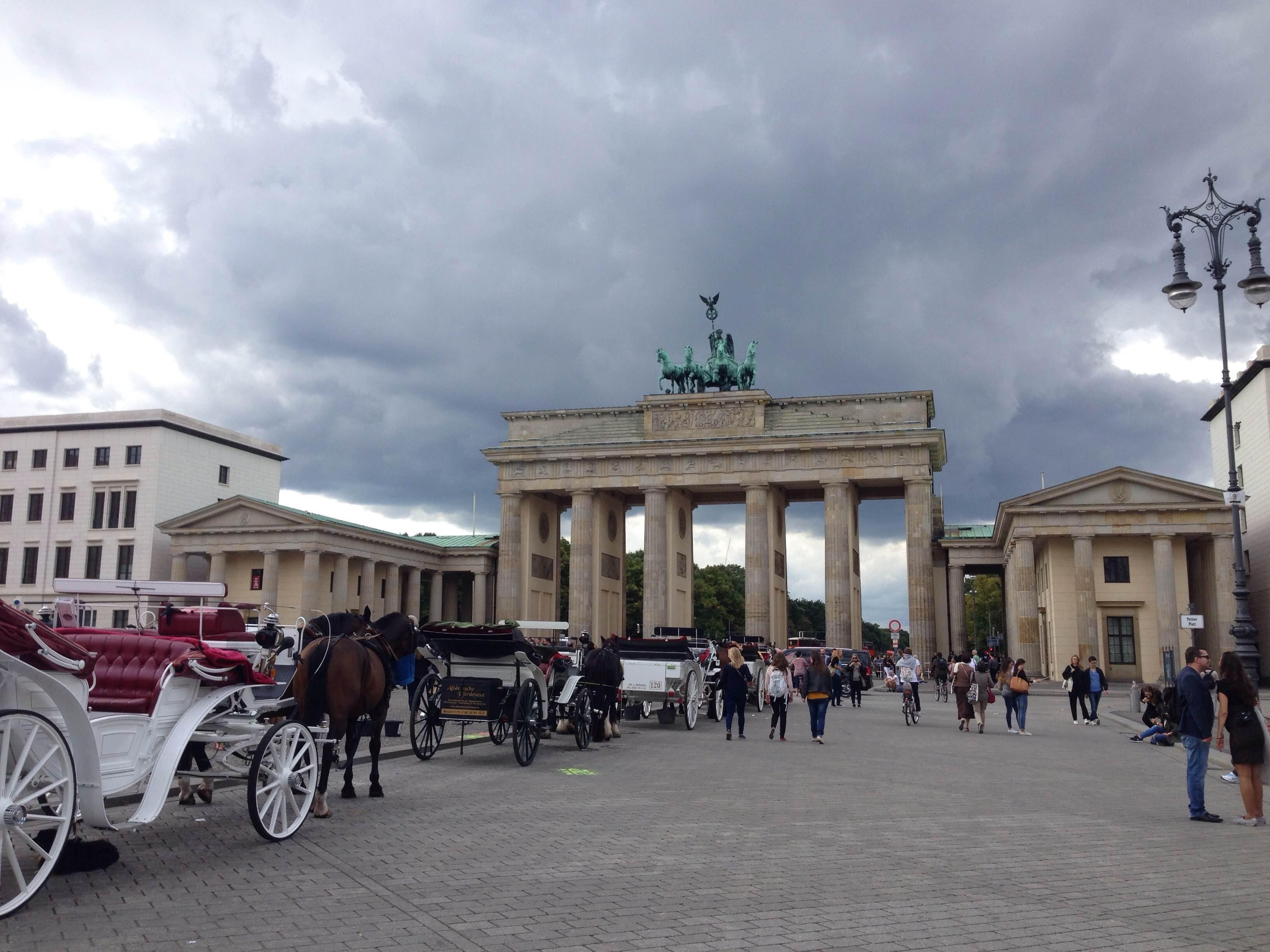 Town in Brandenburg Gate