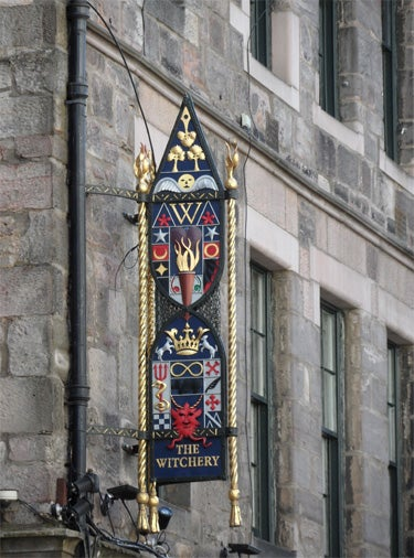 Vidrio en Royal Mile