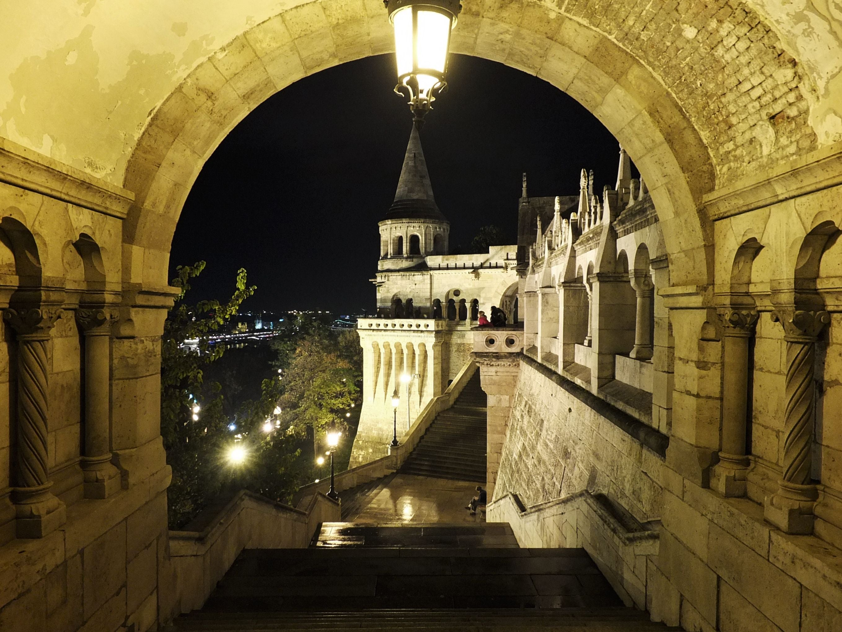 Aisle in Fisherman's Bastion