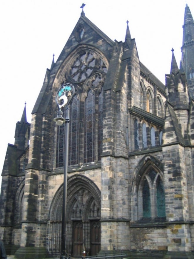 Catedral en Catedral de Glasgow - High Kirk