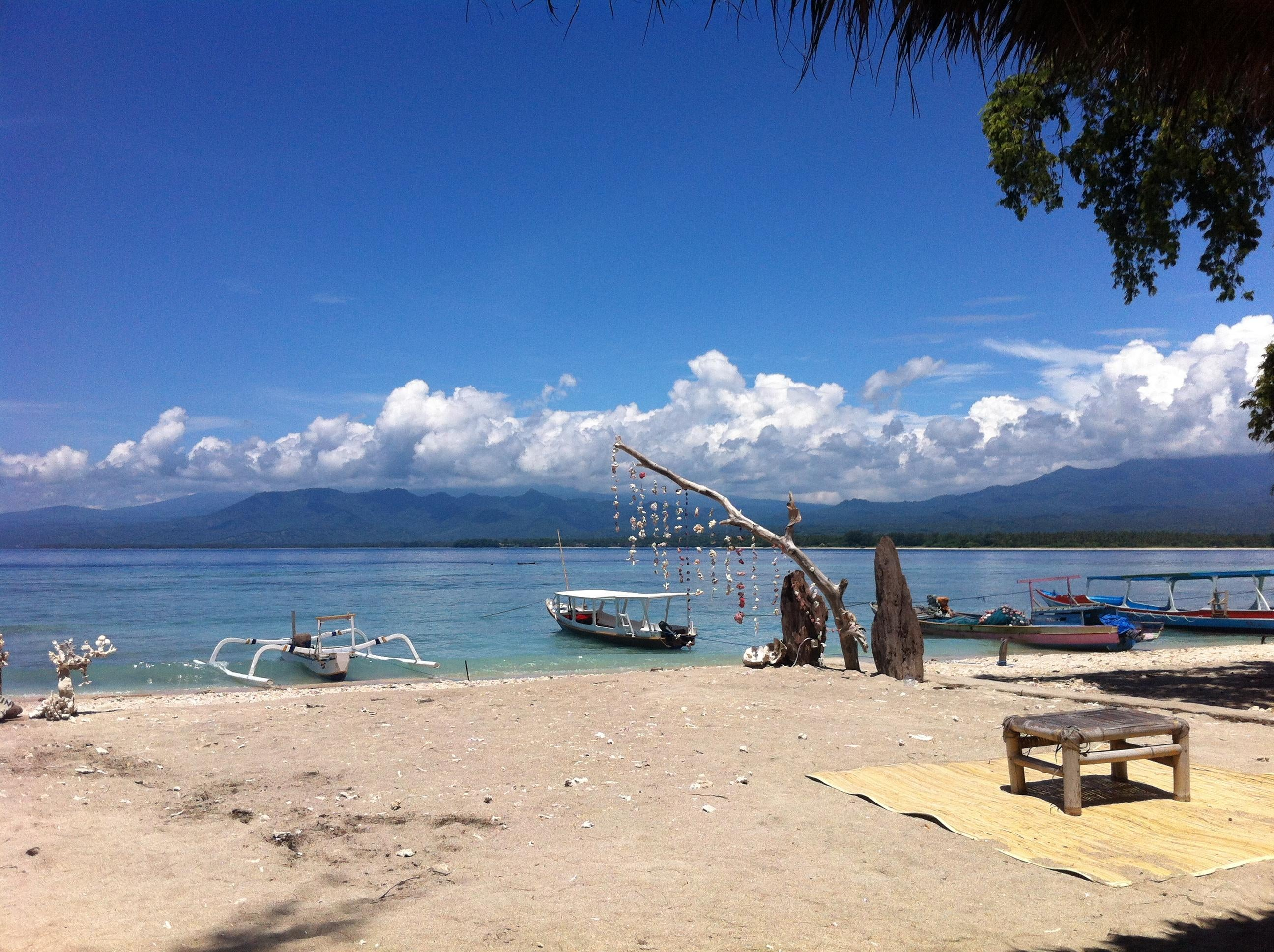 Resort en Islas Gili
