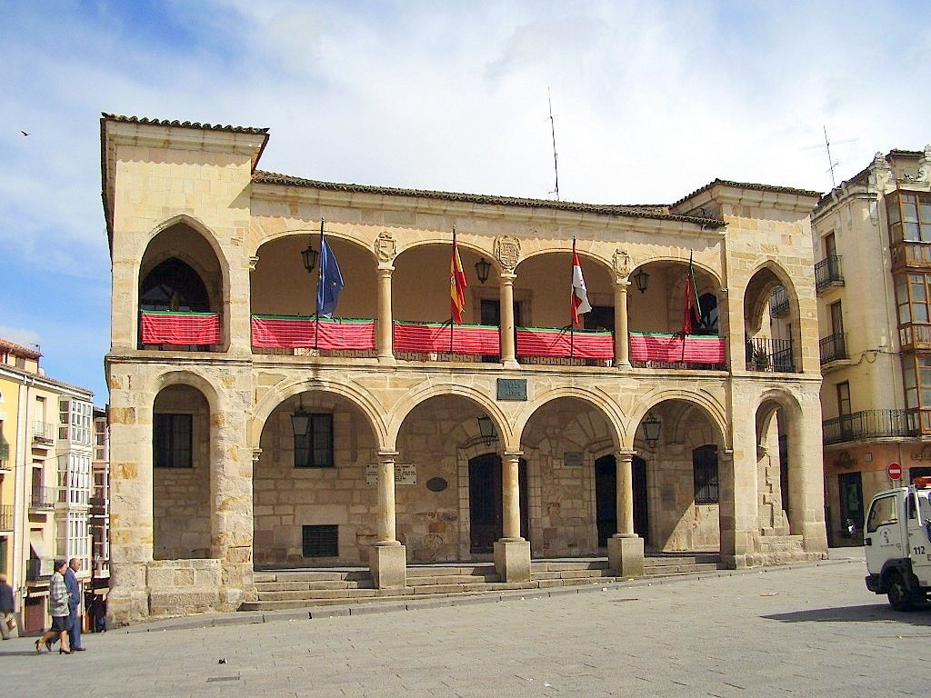 Plaza Mayor de Zamora