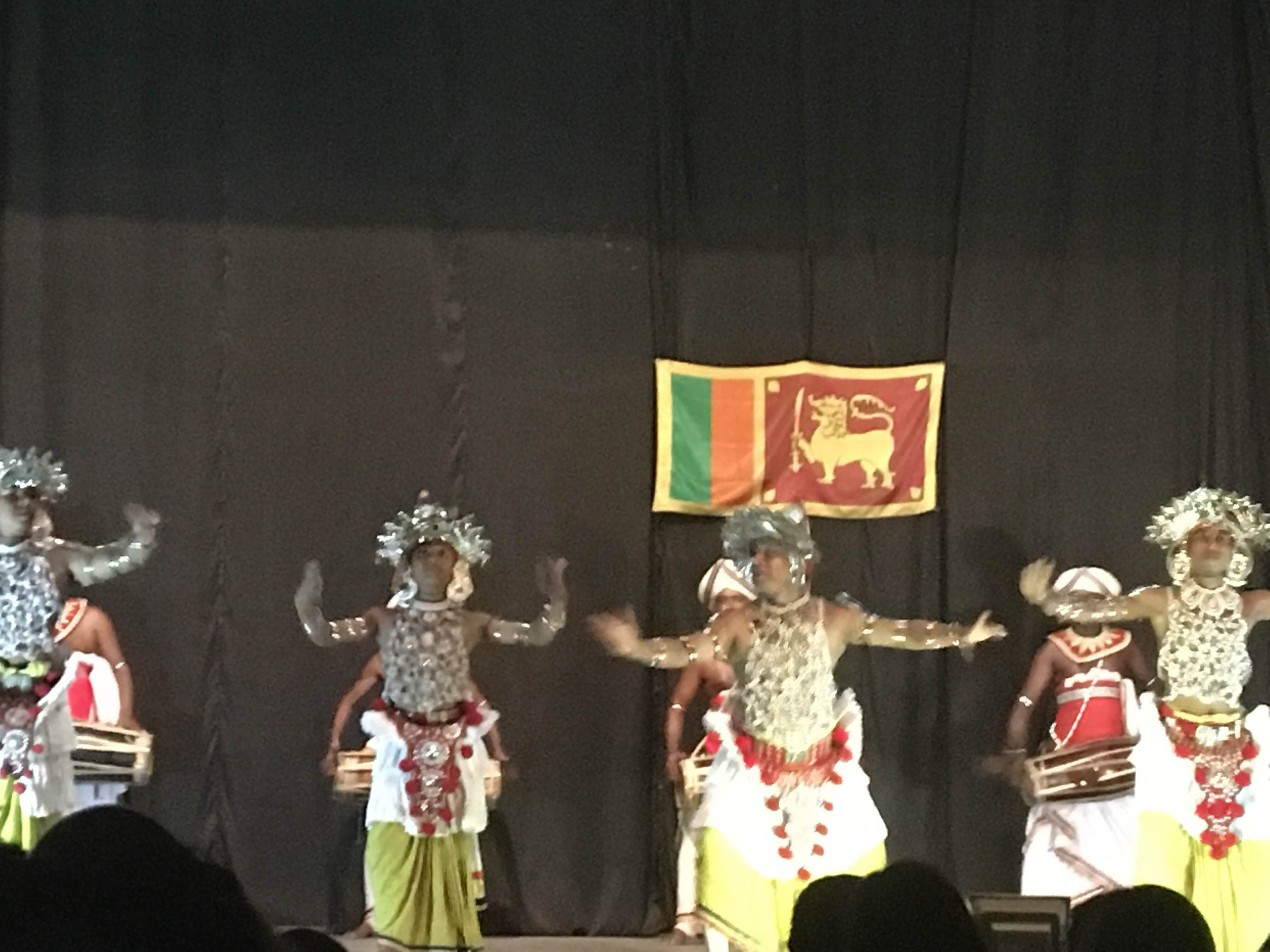 Baile en Kandyan Dance Performance