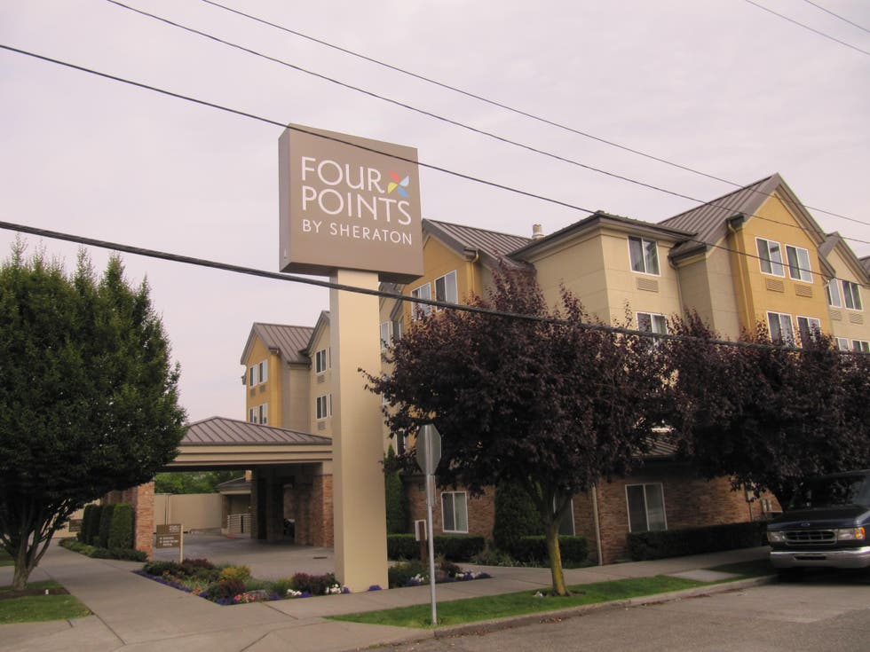 Fotos de fachada em hotel four points by sheraton downtown for 7 salon downtown seattle