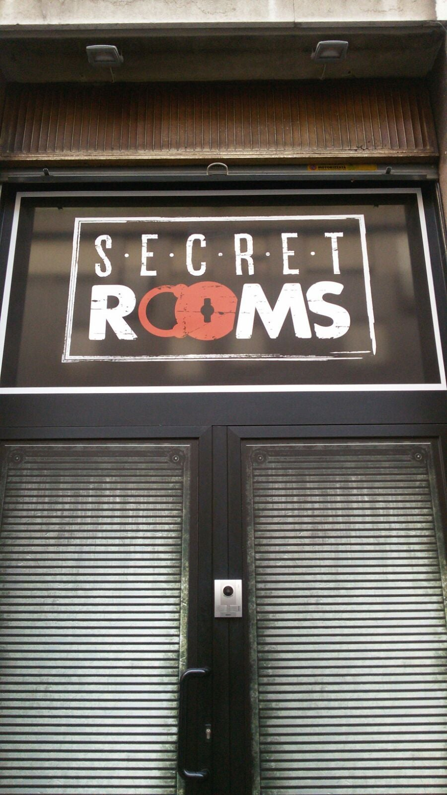 Restaurante en Secret rooms