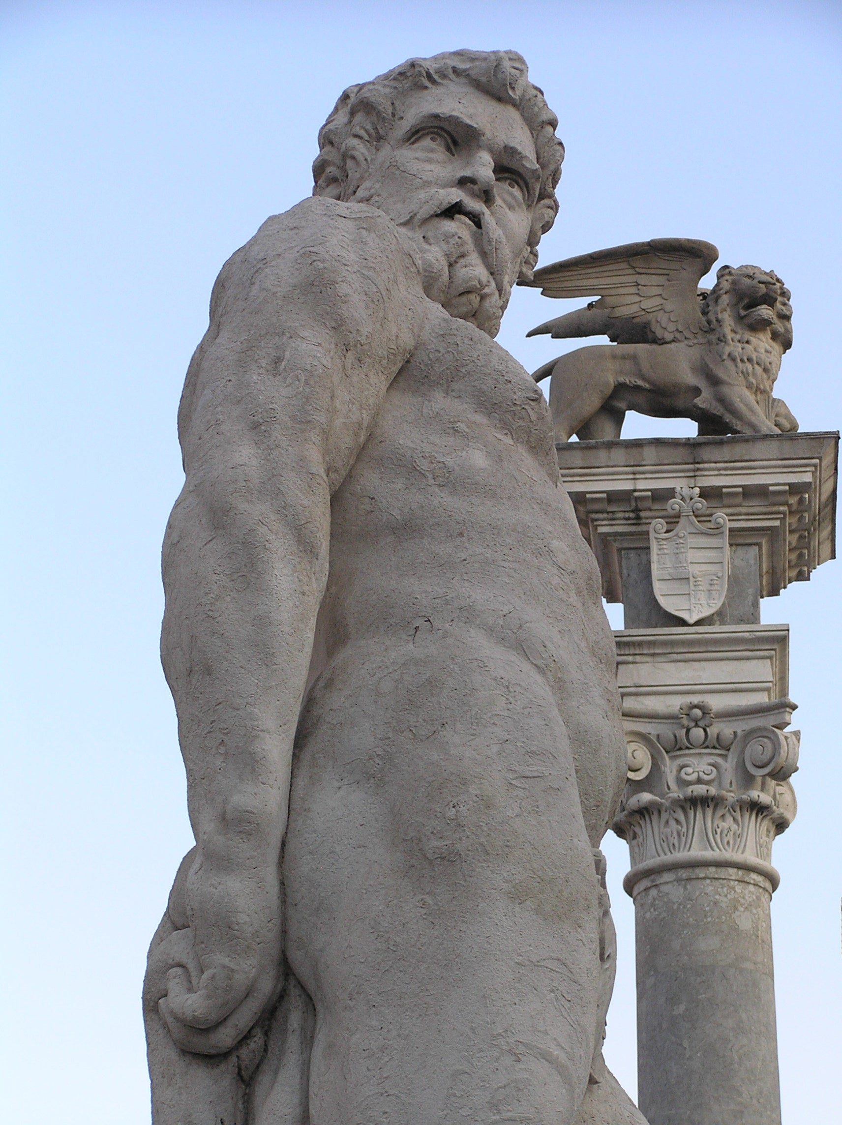 Statues of Ercole and Caco