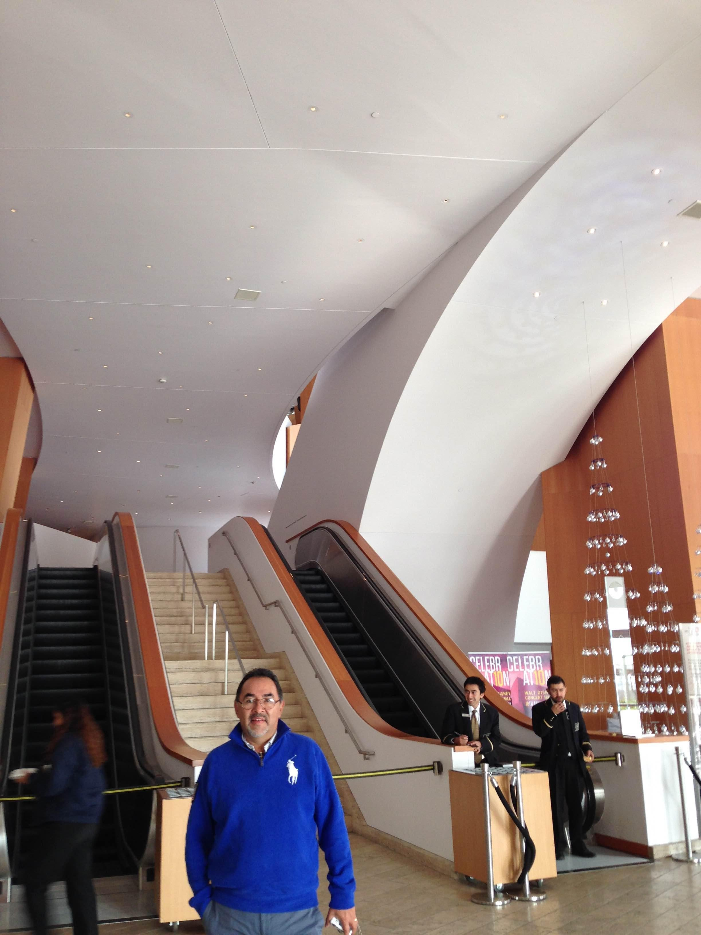 Auditorio en Walt Disney concert hall