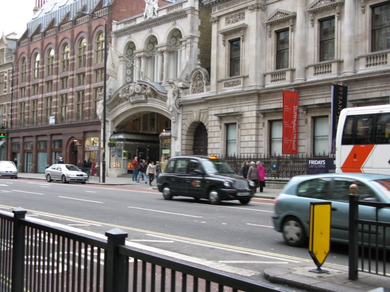 Transporte en Burlington Arcade