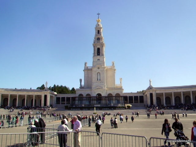 Palace in Basilica of Our Lady of the Rosary of Fatima