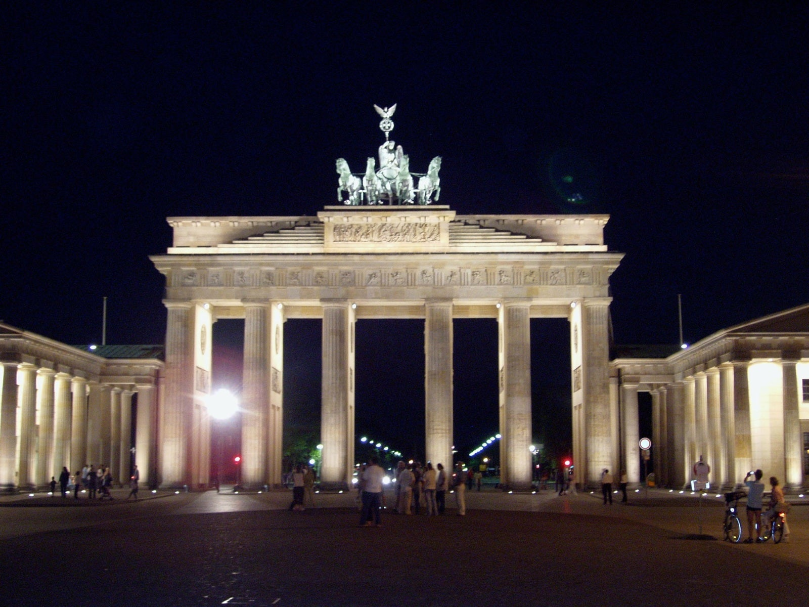 Music Venue in Brandenburg Gate