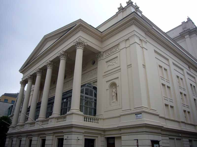 Arquitectura en Royal Opera House
