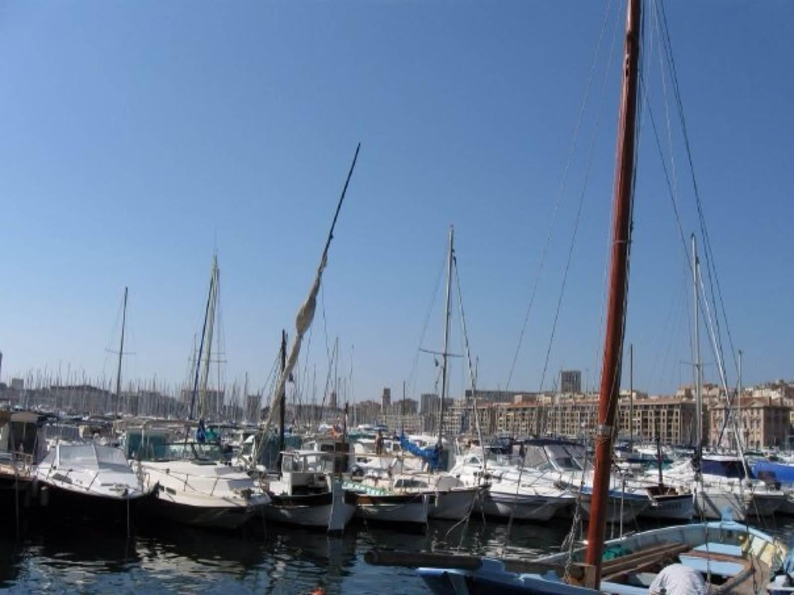 Boat in Port of Marseille