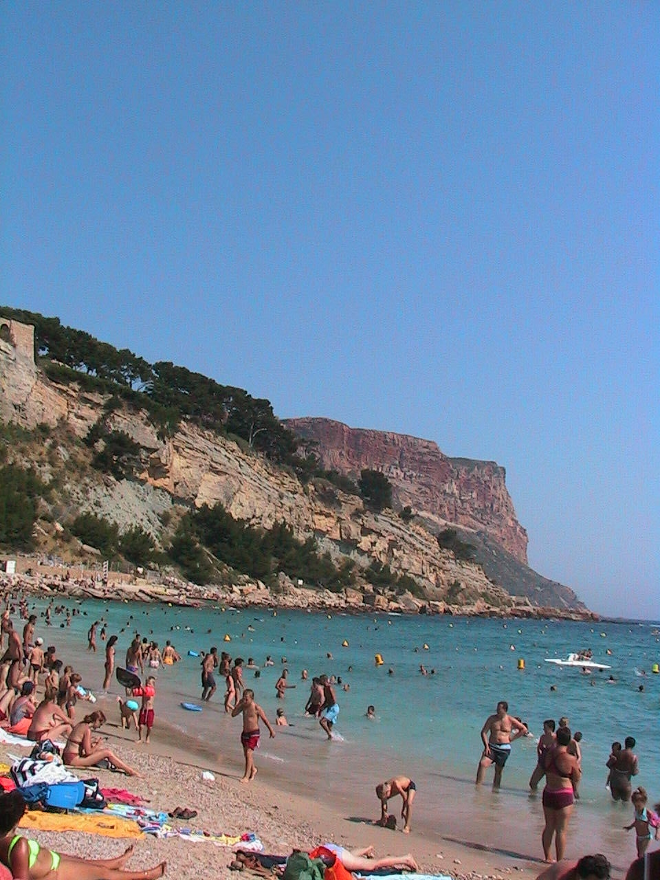 Mar en Playa de Cassis