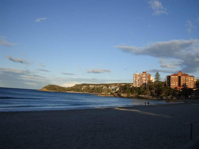 Anochecer en Manly