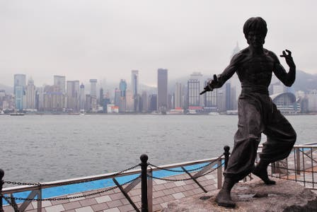 Monumento a Bruce Lee
