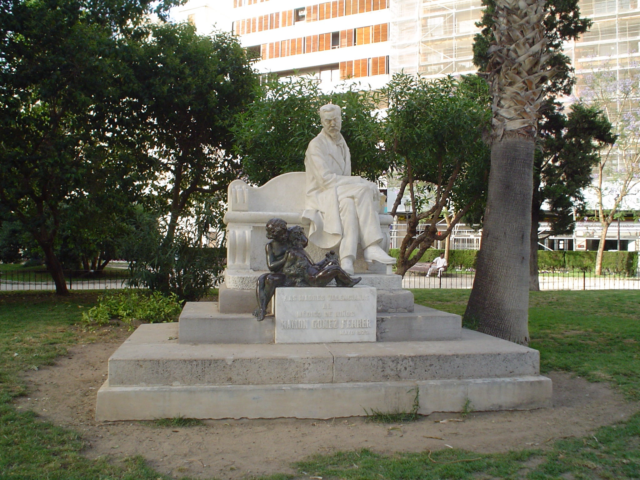 Estatua en La Glorieta
