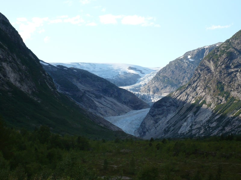 Fjords and glaciers