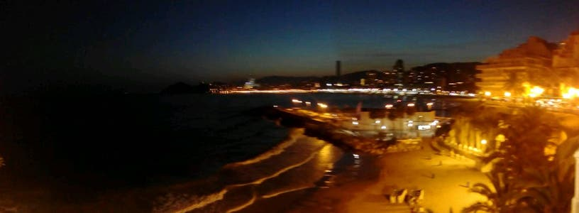 The viewpoint of Benidorm