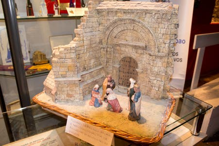 Exhibition of Nativity Scenes in the Museum Steps