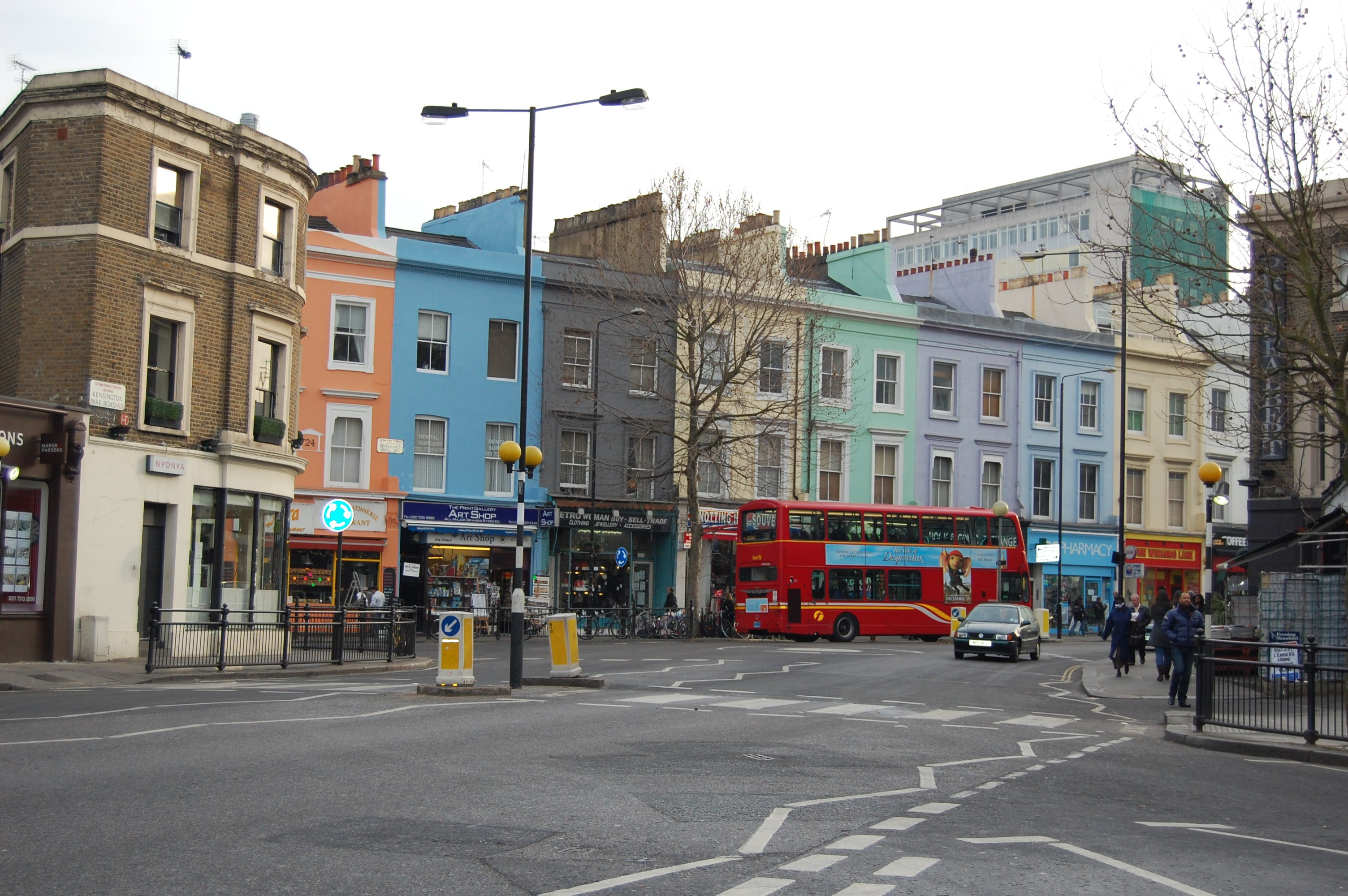 Barrio en Mercadillo de Portobello Road