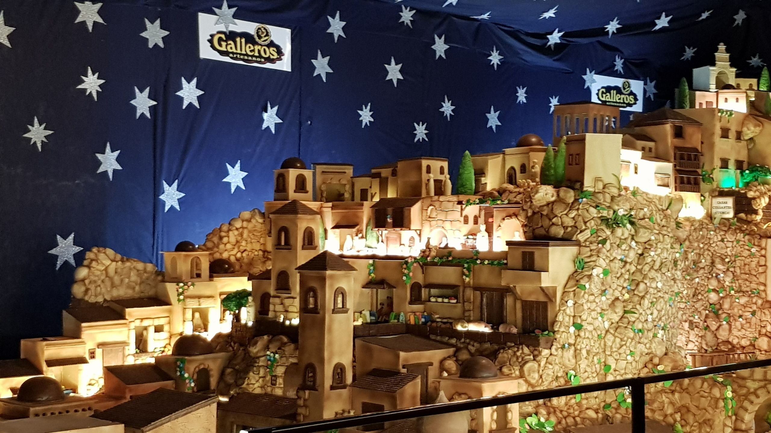 Attrazione turistica The largest Spain chocolate Bethlehem