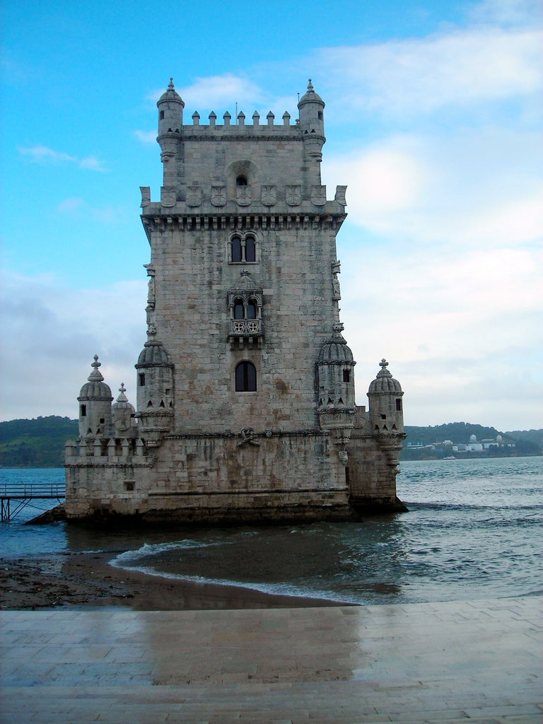 Coast in Belém Tower