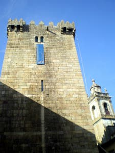 Menagem Tower - Castle of Braga