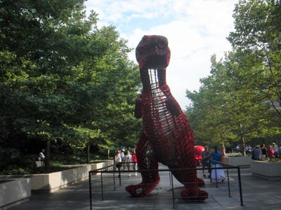 Contemporary sculptures from China (Millennium Park)